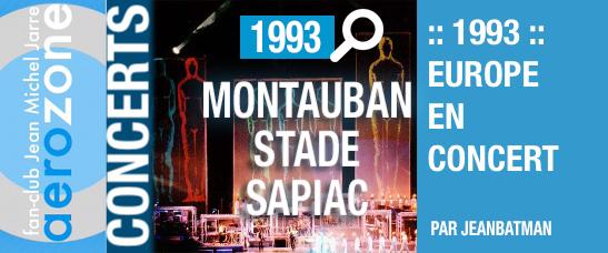 Montauban (21/09/1993, Europe en concert)