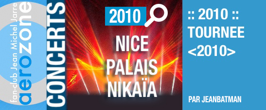 Nice, Palais Nikaïa (21/03/2010, tournée <2010>)