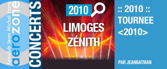 Limoges, Zénith (14/10/2010, tournée <2010>)