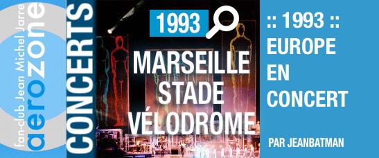 Marseille, Stade Vélodrome (05/09/1993, Europe en concert)