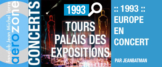 Tours, Palais des expositions (16/10/1993, Europe en concert)
