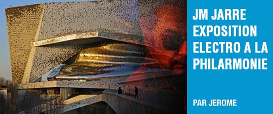 """Le """"studio imaginaire"""" de Jean-Michel Jarre à la Philarmonie de Paris (9 avril au 11 août 2019)"""