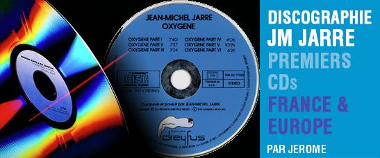 Les premiers CDs de la discographie de Jean-Michel Jarre (1983-1984)
